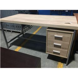 """OFFICE DESK WITH 3 DRAWERS (APPROX 60"""" X 30"""" X 31"""")"""