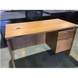 "OFFICE DESK WITH 2 DRAWERS (APPROX 47"" X 23.5"" X 29.5"")"