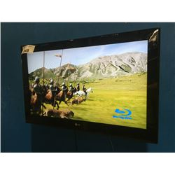 """LG 31"""" TV & REMOTE WITH ADJUSTABLE HANGING WALL MOUNT"""
