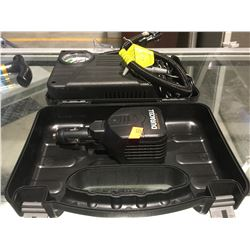 MOTOR TREND PORTABLE INFLATOR IN CARRY CASE WITH DURACELL MOBILE INVERTER 100
