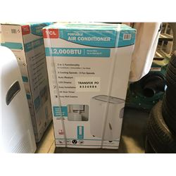 TCL PORTABLE AIR CONDITIONER 12,000BTU ROOM SIZE UP TO 550SQ FT, 3 IN 1 FUNCTIONALITY, 3 COOLING