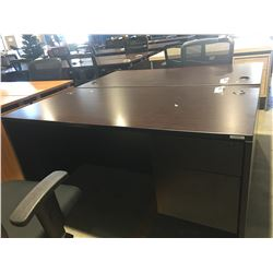 """OFFICE DESK  WITH 2 DRAWERS (APPROX 5' X 30"""" X 29.5"""")"""