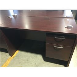 """OFFICE DESK WITH 2 DRAWERS (APPROX 47.25"""" X 23.5"""" X 29.5"""")"""