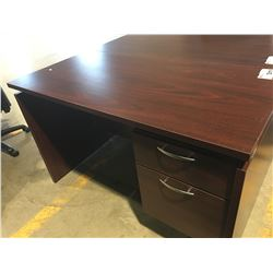 "OFFICE DESK WITH 2 DRAWERS (APPROX 47.25"" X 23.5"" X 29.5"")"