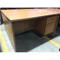 """OFFICE DESK WITH 2 DRAWERS (APPROX 47"""" X 23.5"""" X 29.5"""")"""