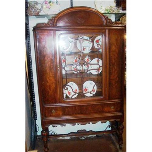 Antique China Hutch Cabinet 1930 S Beautiful 994196