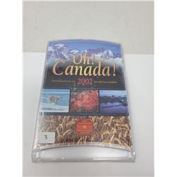 2002 OH CANADA! UNCIRCULATED COIN SET (UNOPENED)