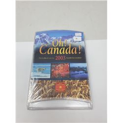 2003 OH CANADA! UNCIRCULATED COIN SET (UNOPENED)