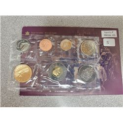 2002 GOLDEN JUBILEE UNCIRCULATED COIN SET
