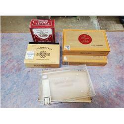 5 1/2 CIGAR BOXES