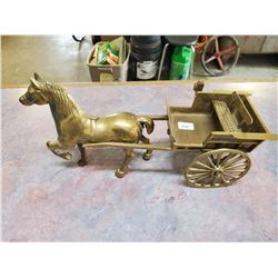BRASS HORSE & CARRIAGE