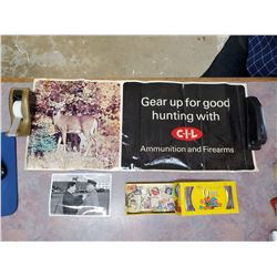 CIL POSTER, STAMPS, MILITARY PICTURE