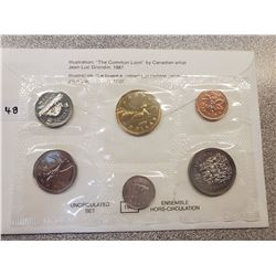 1993 RCM UNCIRCULATED COIN SET