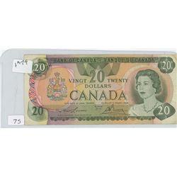 1978 CANADIAN 20 DOLLAR BILL