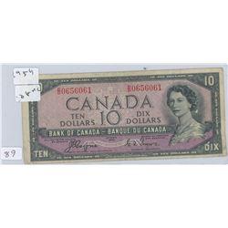 1959 10 DOLLAR BILL DEVIL