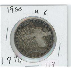 1900 AMERICAN MORGAN SILVER DOLLAR