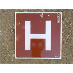 SMALL HOSPITAL SIGN