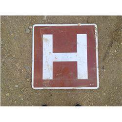 LARGE HOSPITAL SIGN