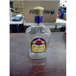 CROWN ROYAL WHISKEY BOTTLE