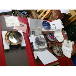 COLLECTOR ART PLATES - LOT OF 5