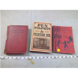 FRIENDS IN FAR-AWAY LANDS, THE CANADA BOOK OF PROSE AND VERSE, PEN, PAPER & PRINTING INK BOOKS