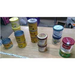 ASSORTMENT OF CANS
