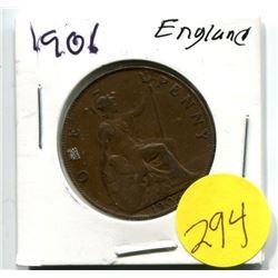 ENGLAND 1906 PENNY