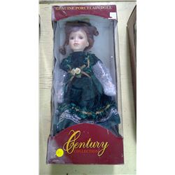 GENUINE PORCELAIN DOLL - CENTURY COLLECTION