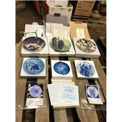 6 COLLECTOR ART PLATES