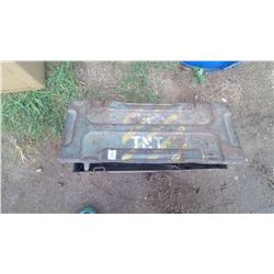 AMMUNITION EXPLOSIVES BOX LABELED TNT FOR MORTAR SHELLS