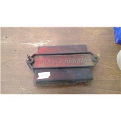 MASSEY HARRIS BATTERY COVER