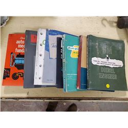 LOT OF DIESEL GM ENGINE MANUALS