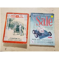 1961 SEARS CATALOG AND 1901 T. EATON REPRODUCED