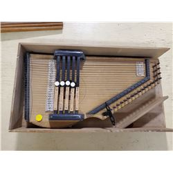 ARTIST IMPROVED AUTO HARP (COMES WITH TUNING KEY)