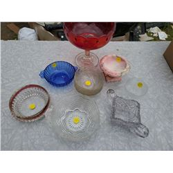 11 GLASS BOWLS
