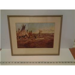 "EARLY AMERICAN PICTURE (18 X 14"")"