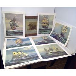 PICTURE, SHIP PRINTS