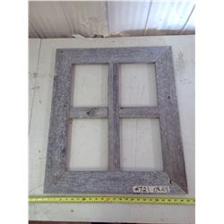 """WOODEN PICTURE FRAME FOR 4X 8X10"""" (23 1/2"""" X 27 1/2"""")"""