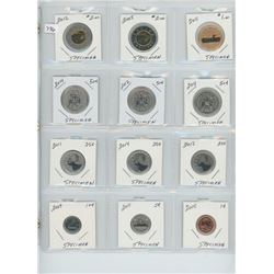"PAGE OF 12 ASST COINS ""SPECIMEN"" QUALITY ROYAL CANADIAN MINT"