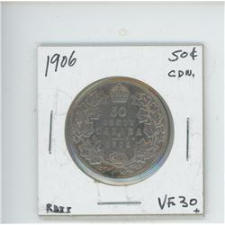 1906 50 CENT COIN