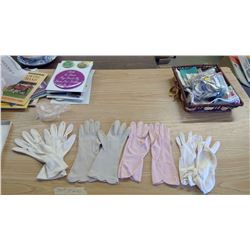 4 PAIRS OF VINTAGE LADIES GLOVES