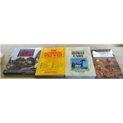 4 HORSE BOOKS
