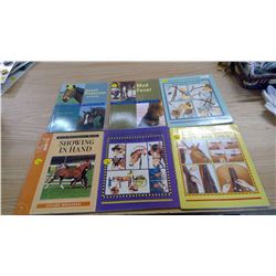 6 HORSE BOOKS