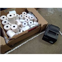 STAR RECEIPT PRINTER AND ROLLS OF RECEIPTS