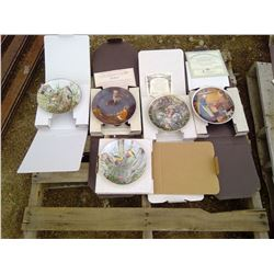 5X ART COLLECTOR PLATES