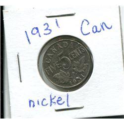1931 NICKEL