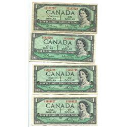 4 X $1 - 1954