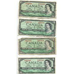 4 X $1 1954