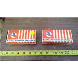 EDDY MATCHSTICK BOXES (EMPTY)