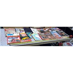 ASSORTMENT OF MAGAZINES AND VHS TAPES